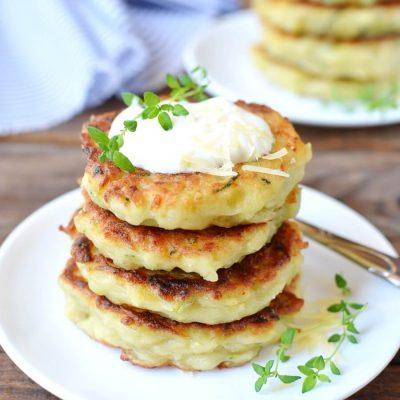 Irish Zucchini and Potato Pancakes Recipe-Homemade Irish Zucchini and Potato Pancakes-Delicious Irish Zucchini and Potato Pancakes