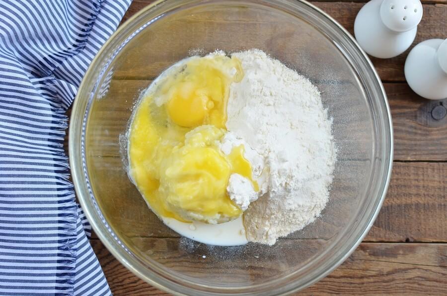 Irish Zucchini and Potato Pancakes recipe - step 1