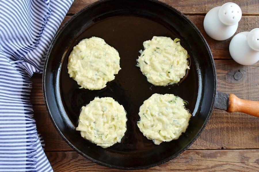 Irish Zucchini and Potato Pancakes recipe - step 4