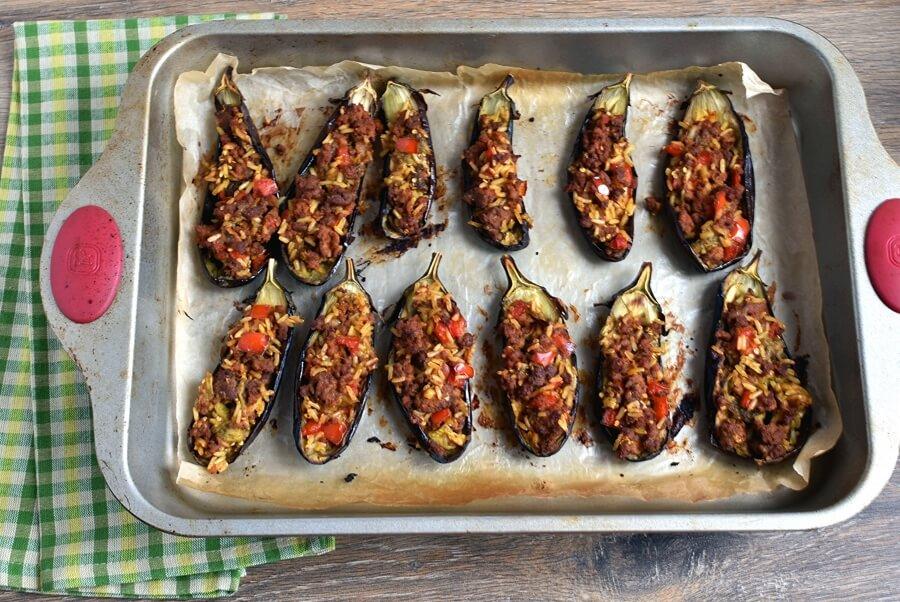 Gluten Free Lamb Stuffed Eggplant recipe - step 11