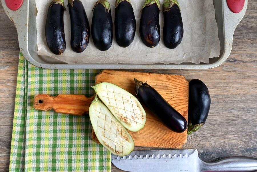 Gluten Free Lamb Stuffed Eggplant recipe - step 2
