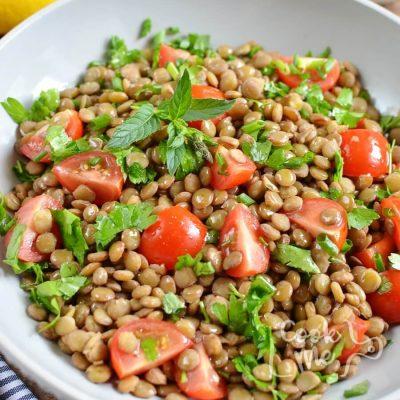 Lentil tabbouleh Recipe-Homemade Lentil tabbouleh-Delicious Lentil tabbouleh