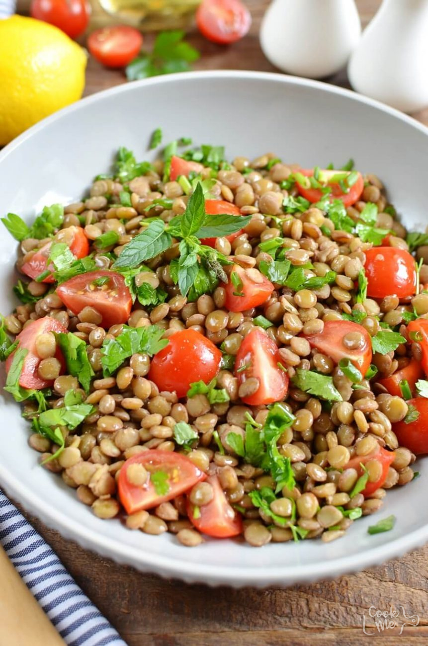 Vegan Lentil Tabbouleh
