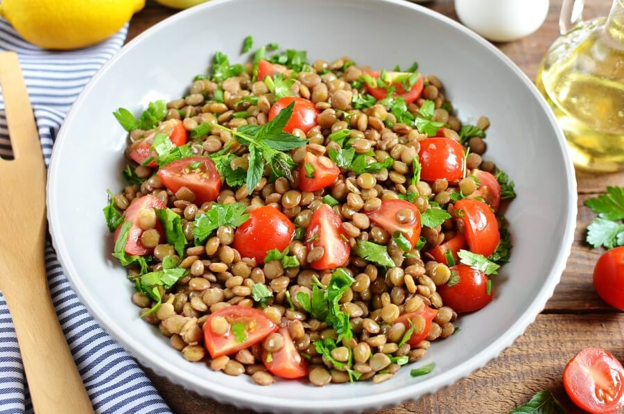 How to serve Vegan Lentil Tabbouleh
