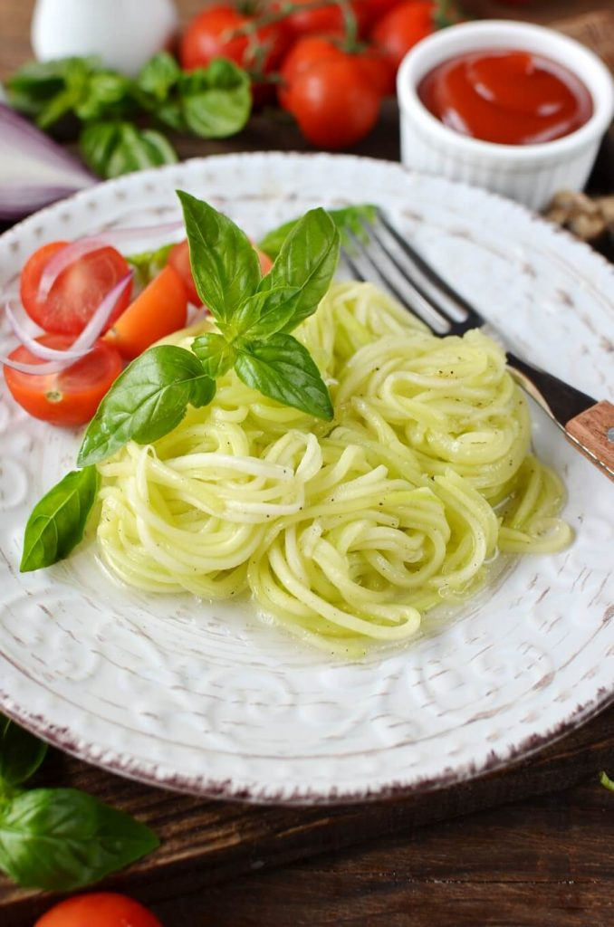 Healthy Zucchini Zoodles