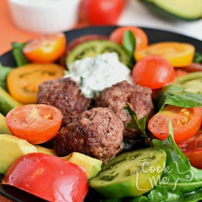 Meatball and Tomato Salad Recipe-Homemade Meatball and Tomato Salad-Delicious Meatball and Tomato Salad