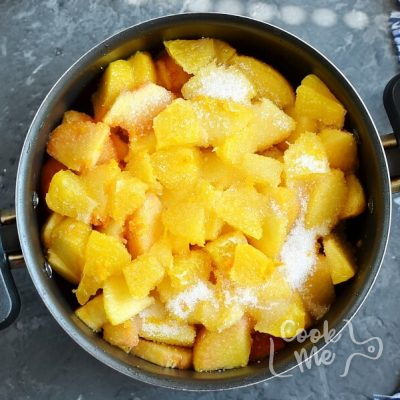 Peach Marmalade (No Pectin) recipe - step 3