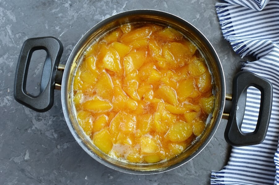 Peach Marmalade (No Pectin) recipe - step 4