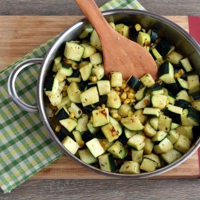 Parmesan Zucchini and Corn recipe - step 3