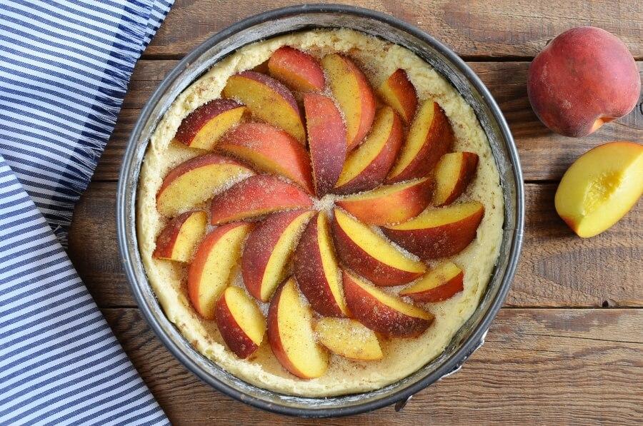 Peach Kuchen recipe - step 7