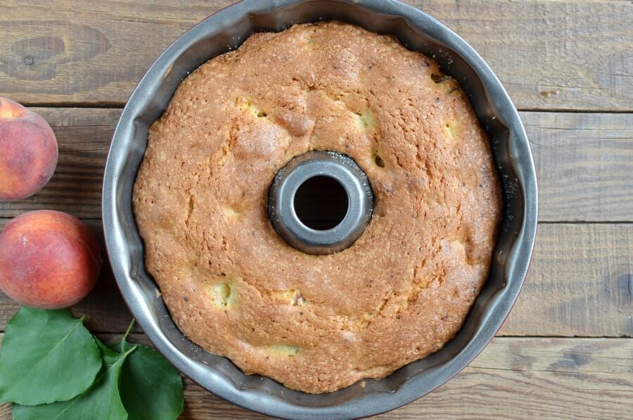 Peach Pound Cake recipe - step 7