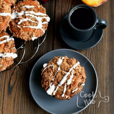 Peach Streusel Muffins Recipe-How to make Peach Streusel Muffins-Delicious Peach Streusel Muffins