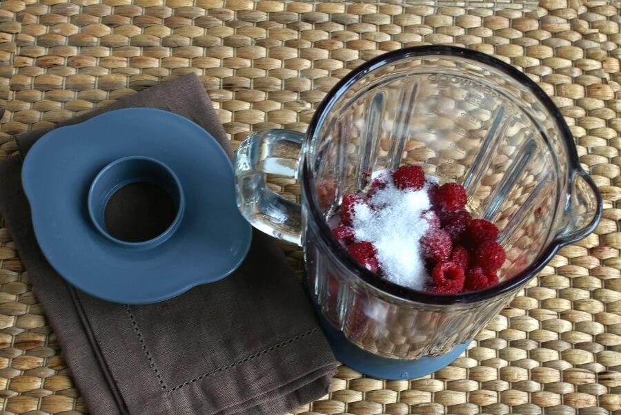 Raspberry Almond Poke Cake recipe - step 6