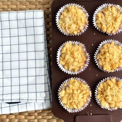 Raspberry Lemon Crumb Muffins recipe - step 8