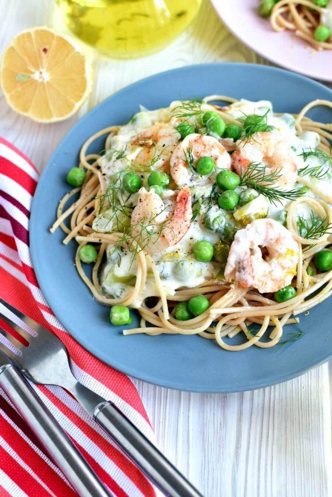 Light and Lemony Italian Spaghetti