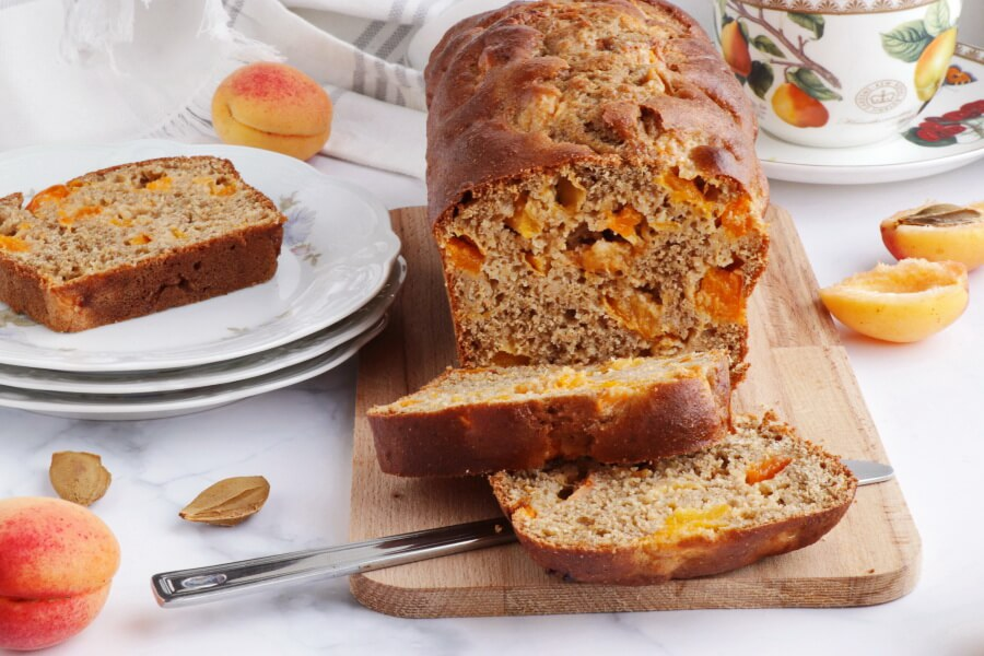 How to serve Skinny Apricot Loaf Cake