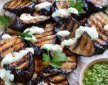 Vegan Smoky Grilled Eggplant