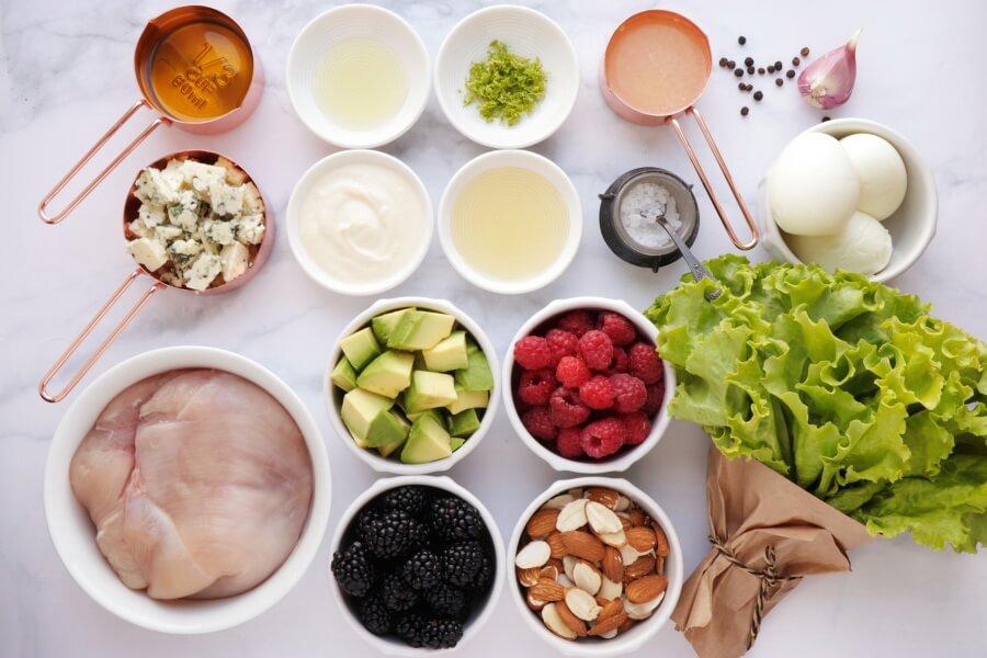 Ingridiens for Summer Cobb Salad