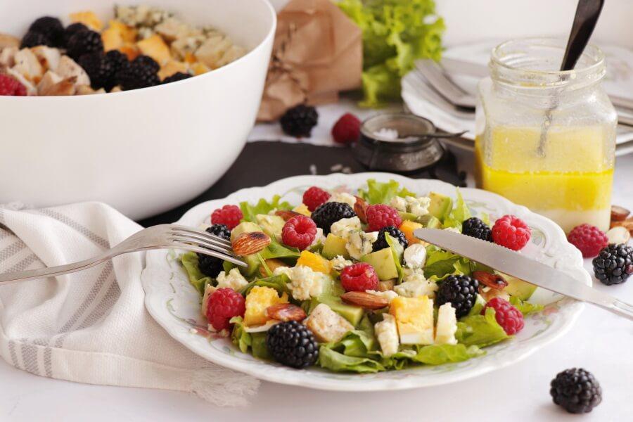 How to serve Summer Cobb Salad