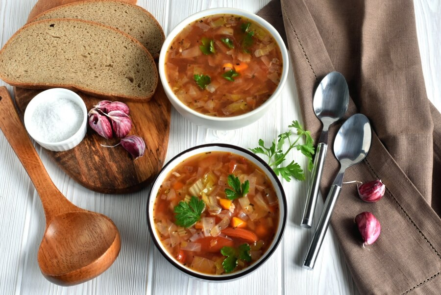 How to serve The Best Detox Cabbage Soup