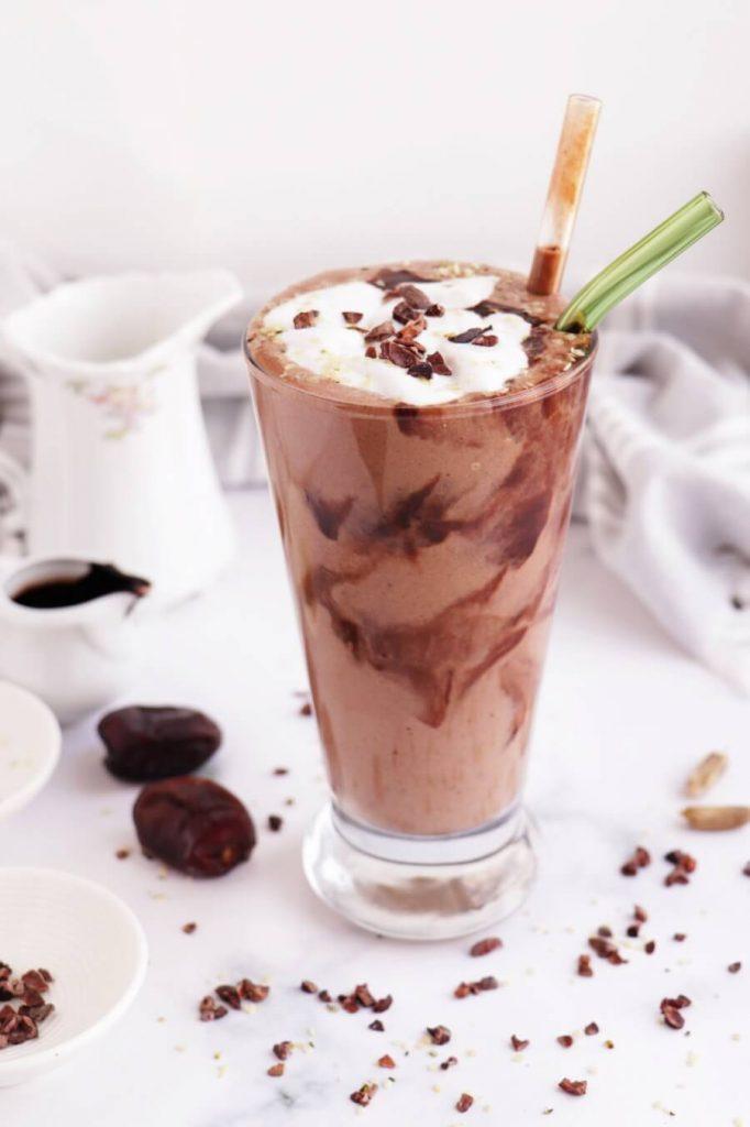 Vegan and Gluten Free Chocolate Shake