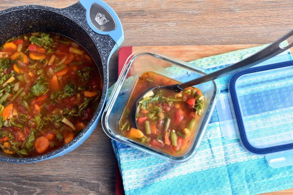 How to serve Vegan Detox Soup
