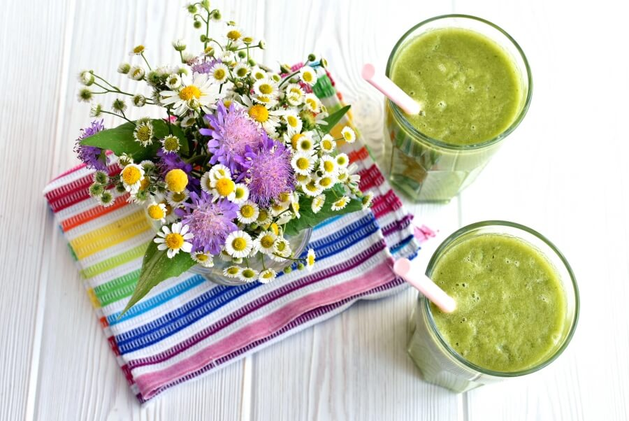 How to serve Perfect Vegan Green Smoothie