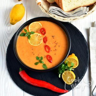 Vegan Lentil Cream Soup Recipe-Homemade Vegan Lentil Cream Soup-Delicious Vegan Lentil Cream Soup
