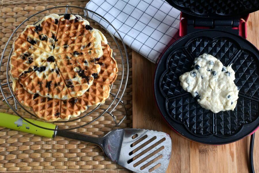 Vegan Triple Berry Waffles recipe - step 5