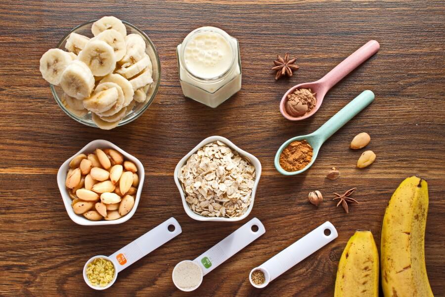 Vegan Vanilla Spiced Breakfast Smoothie-How to make Vegan Vanilla Spiced Breakfast Smoothie-Breakfast Smoothie