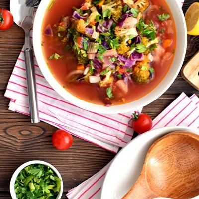 Vegetable Detox Soup Recipe-Homemade Vegetable Detox Soup-Delicious Vegetable Detox Soup
