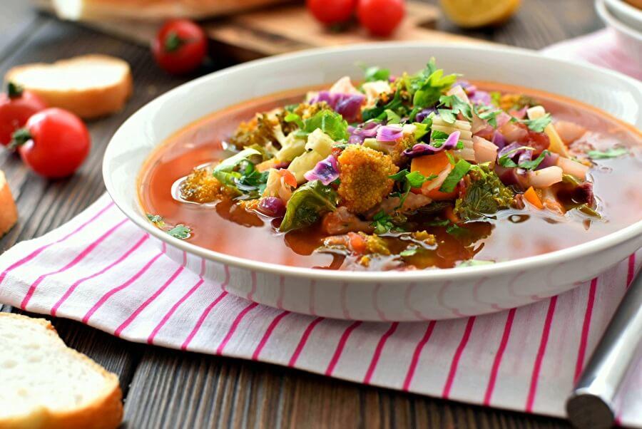 Vegetable Detox Soup Recipe-Homemade Vegetable Detox Soup-Delicious Vegetable Detox Soup