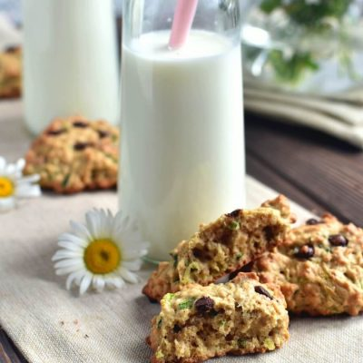 Zucchini Oatmeal Chocolate Chip Cookies Recipe-Homemade Zucchini Oatmeal Chocolate Chip Cookies-Delicious Zucchini Oatmeal Chocolate Chip Cookies