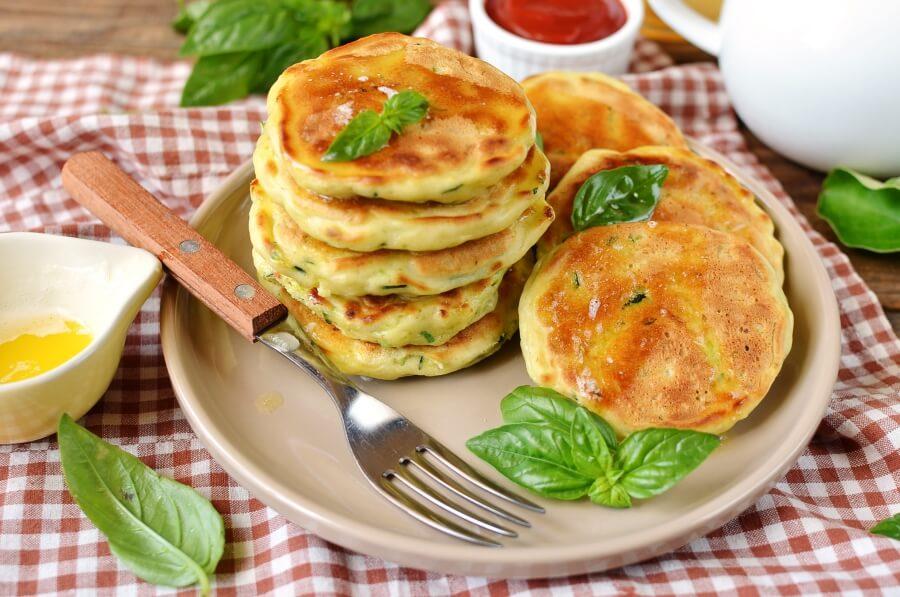 Zucchini Pancakes Recipe-Delicious Zucchini Pancakes-How To Make Zucchini Pancakes