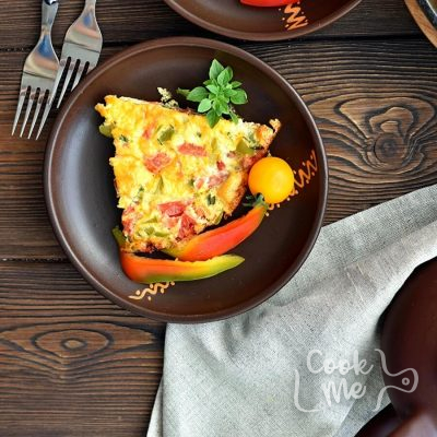 5 Ingredient Vegetable Frittata Recipe-How to make 5 Ingredient Vegetable Frittata-Delicious 5 Ingredient Vegetable Frittata