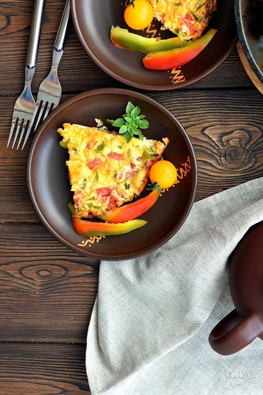 5 Ingredient Low Carb Vegetable Frittata