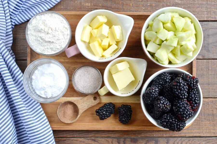 Apple & blackberry crumble Recipe-How To Make Apple & blackberry crumble-Delicious Apple & blackberry crumble