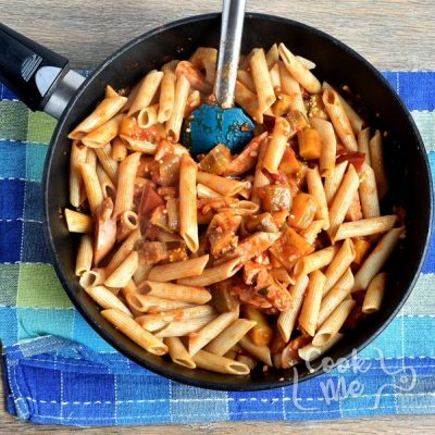 Baked Ratatouille-Sausage Penne recipe - step 7