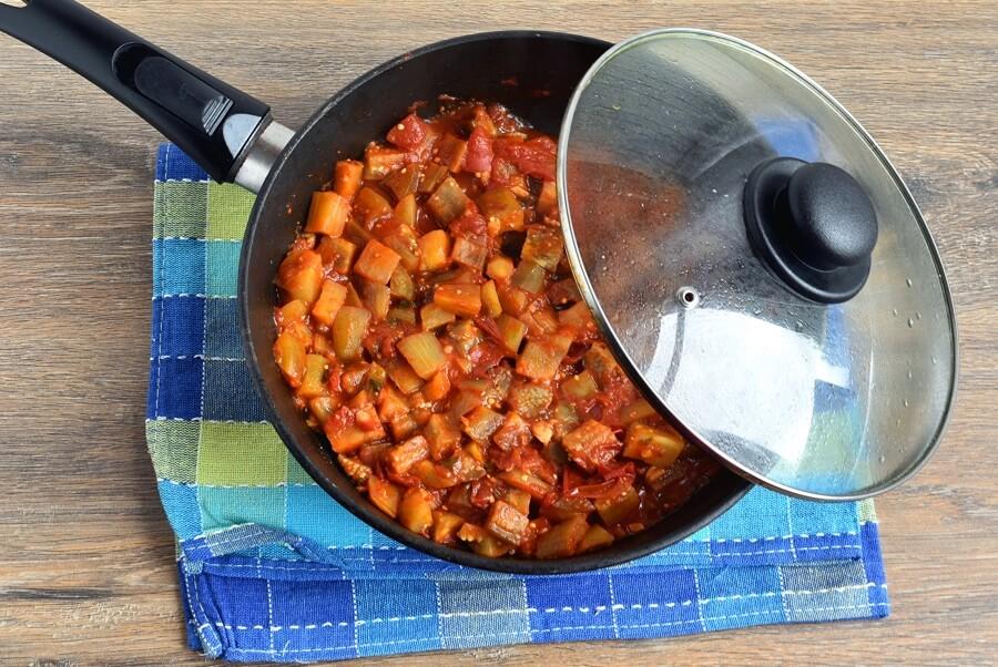 Baked Ratatouille-Sausage Penne recipe - step 5