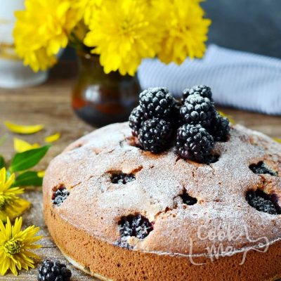 Blackberry Cake Recipe-How To Make Blackberry Cake-Delicious Blackberry Cake