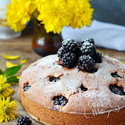 Blackberry Cake Recipe-How To Make Blackberry Cake-Delicious Blackberry Cake