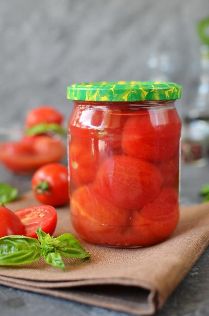 Canned Whole Tomatoes Recipe-How To Make Canned Whole Tomatoes-Delicious Canned Whole Tomatoes