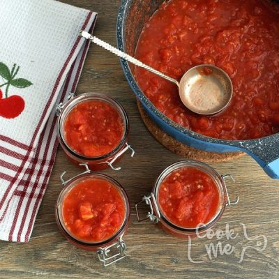 Canning Chopped Tomatoes recipe - step 9