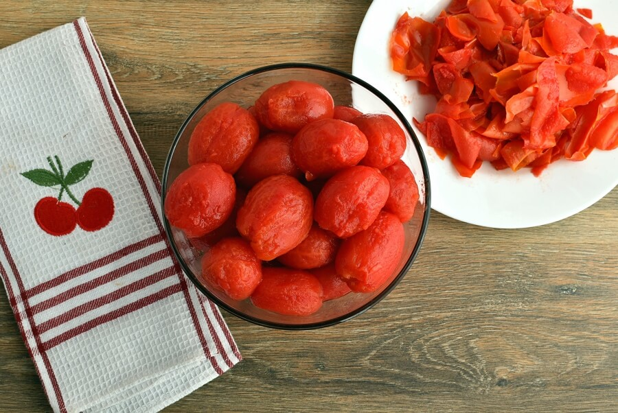 Canning Chopped Tomatoes recipe - step 5