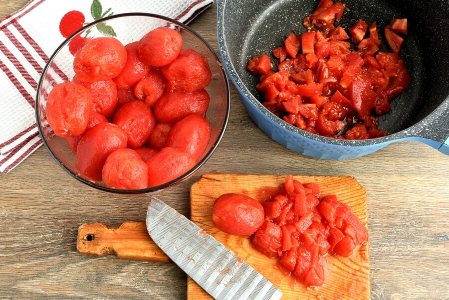Canning Chopped Tomatoes recipe - step 6