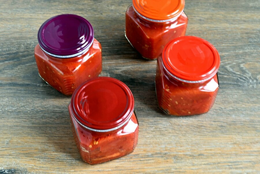 How to serve Canning Roasted Tomatoes