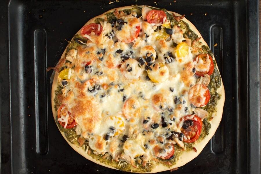 Chicken Pizza recipe - step 4