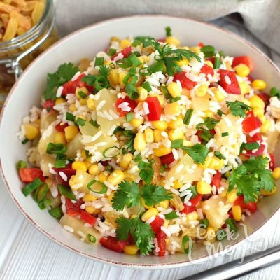Cold Rice Salad Recipe-How to make Cold Rice Salad-Delicious Cold Rice Salad