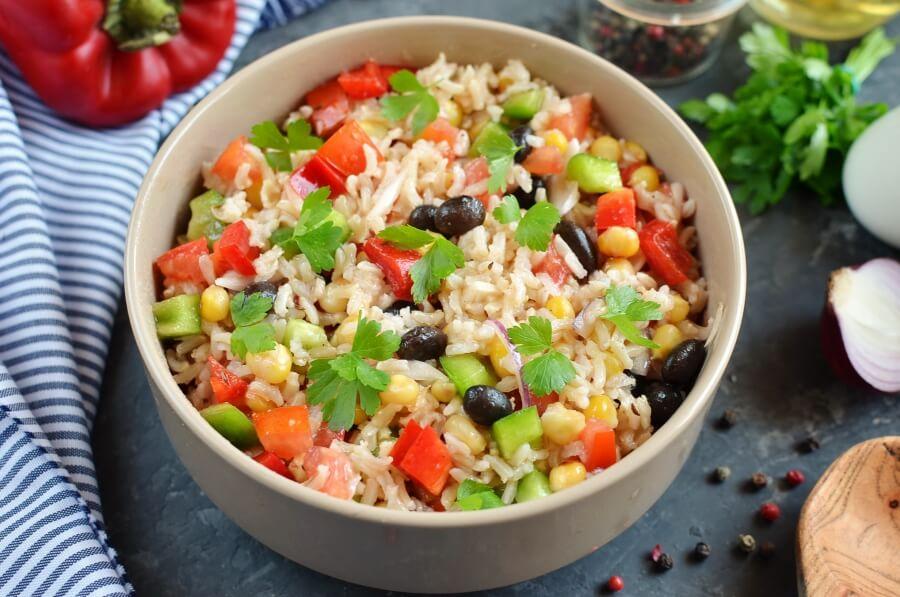 How to serve Cowboy Rice Salad