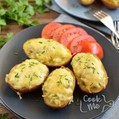 Easy Twice Baked Potatoes Recipe-How To Make Easy Twice Baked Potatoes-Delicious Easy Twice Baked Potatoes